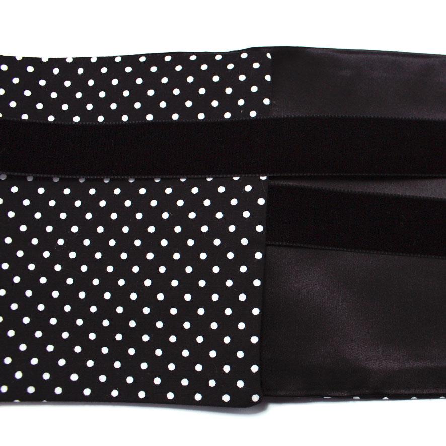 tactilotics-ceinture-obi-pois-noir
